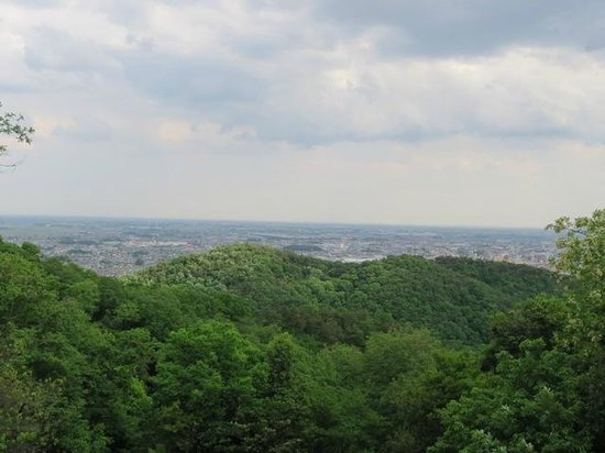 Kanayama Castle Remains: 関東平野を一望