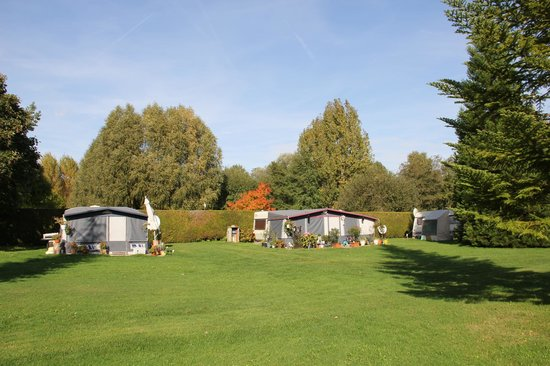 Camping Ile de Boulancourt: Caravaning