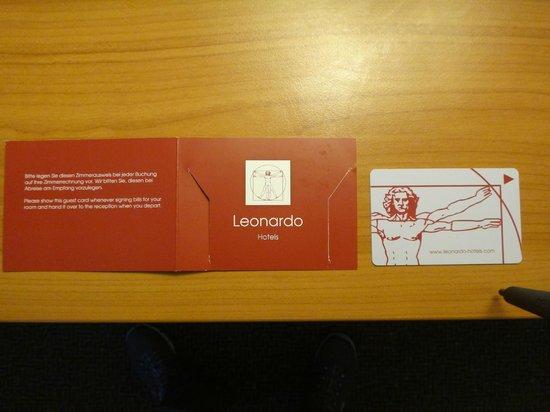 Leonardo Hotel Aachen: Folder do Hotel