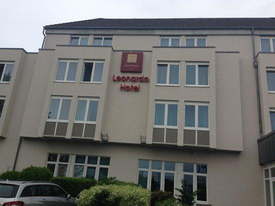Leonardo Hotel Aachen: Sua fachada