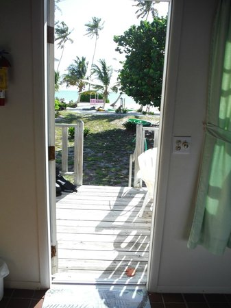 Seascape Inn, Andros : View our our cottage door