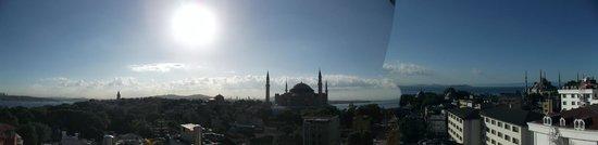View from the Adamar Hotel Breakfast Room/ Restaurant