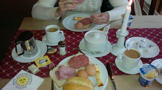 Schlossrestaurant Neuschwanstein: Завтрак
