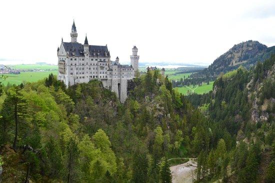 Schlossrestaurant Neuschwanstein: Окрестности отеля: Сказочный замок Людвига