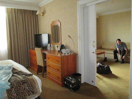 Crowne Plaza Leeds: suite