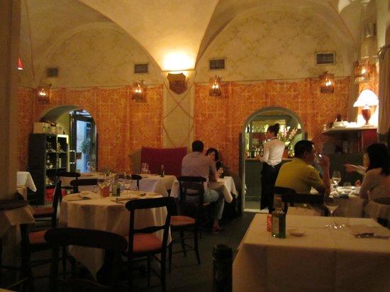 Ristorante & Wine Bar dei Frescobaldi : View of Interior of Dei Frescobaldi