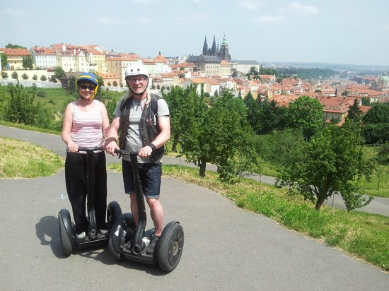 SEGWAY EXPERIENCE: Segway and E-Scooter Tours: View over Prague