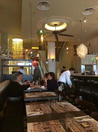 Restaurant Núria: Interior