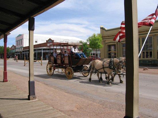 Stagecoach - Allen Street, Tombstone