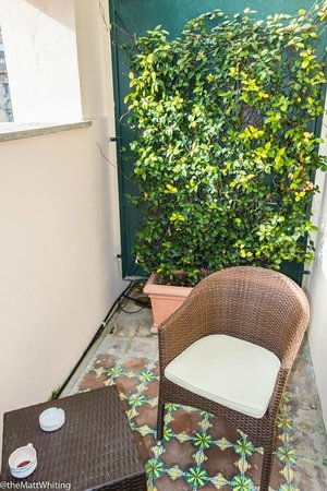 Hotel Ludovisi Palace : My relaxing balcony