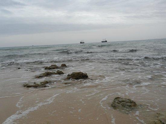 Residence la Paix : la mer à coté de l'hotel