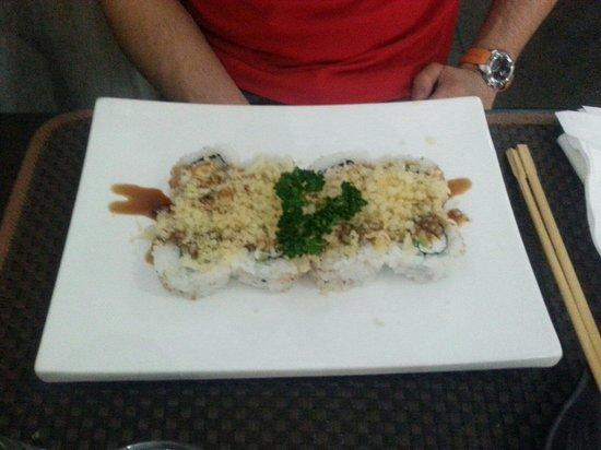 Mikaku: Maki con orata alla piastra e salsa di soya ! Saporiti ed ideali per chi non ama il pesce crudo