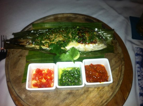 Glaze Bali: Beautiful Snapper!