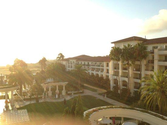 Monarch Beach Resort: とても素晴らしい夕陽が見られます
