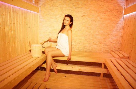 Grand Hotel & Spa Tirana: Finlandes sauna