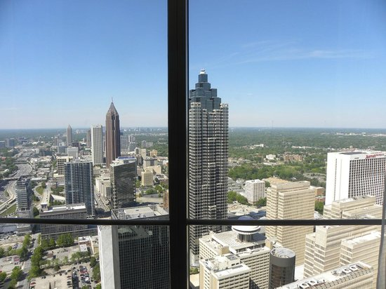 The Westin Peachtree Plaza: Spectacular view