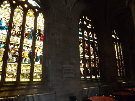 Church of the Holy Rude: beautiful windows