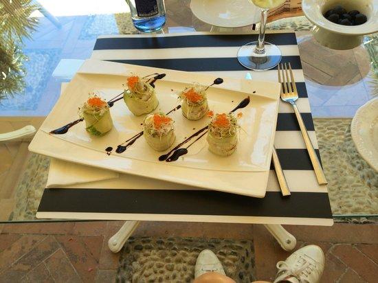 Hotel Villa Jerez: kleiner mittagssnack