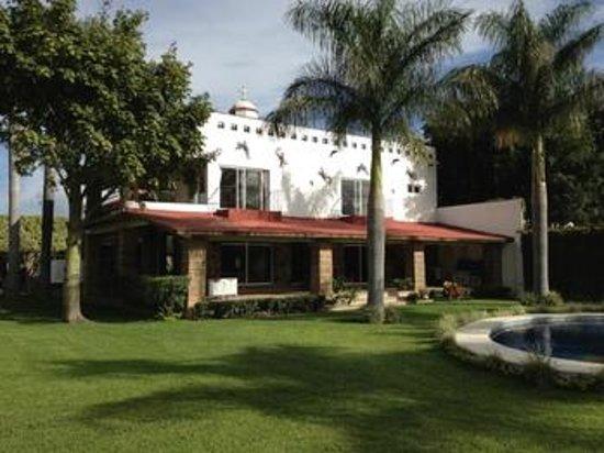 Casa Leonarda: Vista de la casa