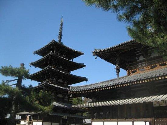 Horyuji Temple: Western Precinct