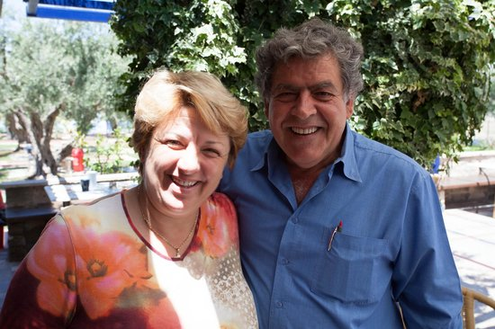 Filoxenia Hotel Apartments : Evangelina and Nikos, Best hosts in Greece bar none!
