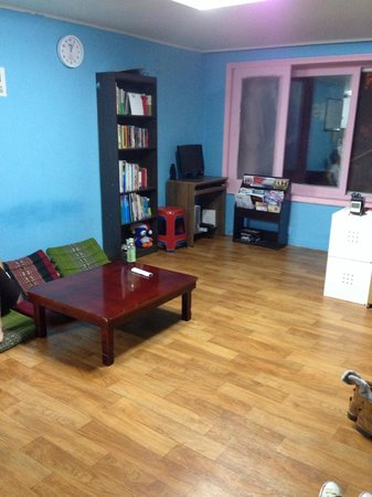 Chingu guesthouse: Common area for gatherings