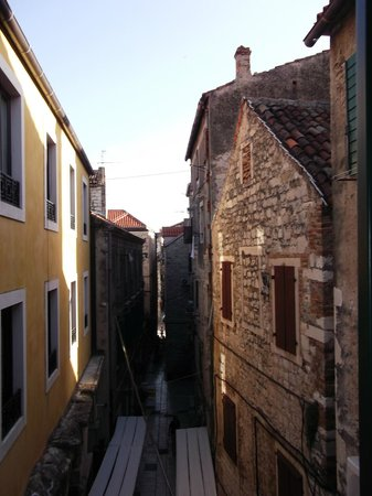 Diocletian Palace Experience: view from the window