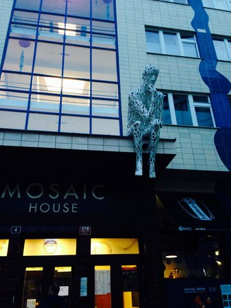 Mosaic House: Hotel spettacolo