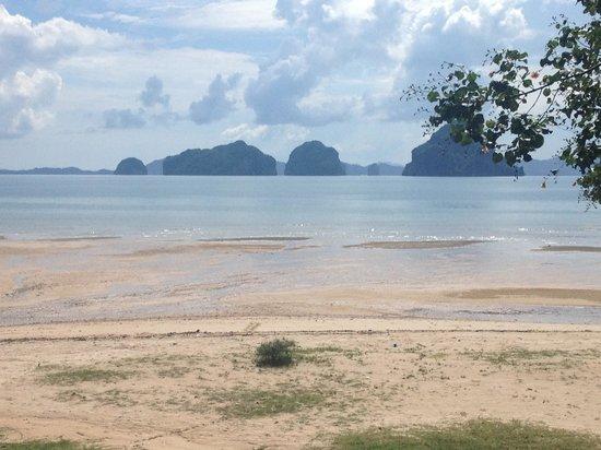Tup Kaek Sunset Beach Resort: วิว ณ ห้องอาหาร