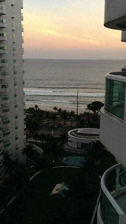 Gran Nobile Rio de Janeiro Barra: Beach view from 1023