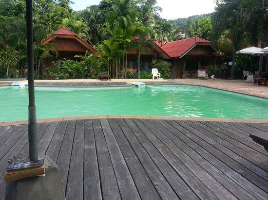 Green View Village Resort : grüner pool