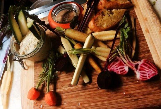 Parker House Inn and Restaurant : Farmers Market Tasting Board