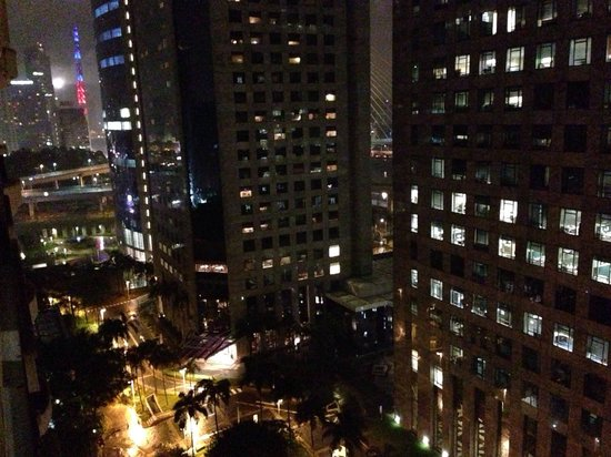 Gran Estanplaza Berrini: Vista noturna da janela - 15o andar