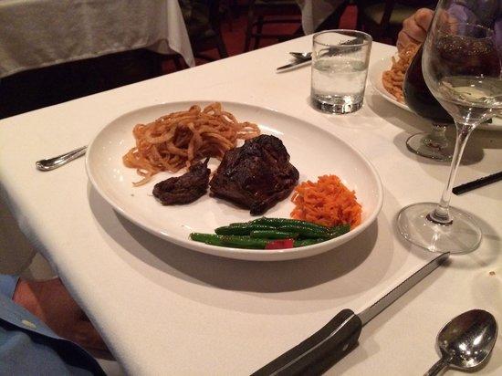 Bern's Steak House : chateaubraind