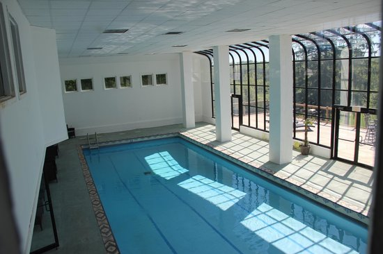The Mansion at Noble Lane: Indoor pool
