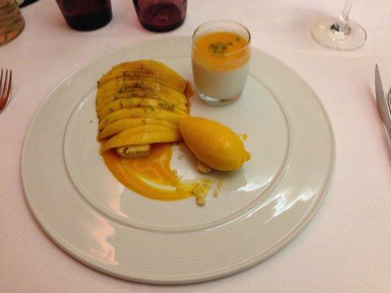 la Galinette : Pain de Gêne à la mangue