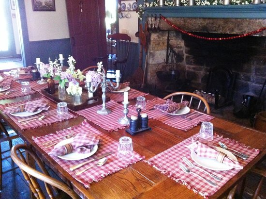 Inn at Lower Farm Bed and Breakfast: Breakfast is ready