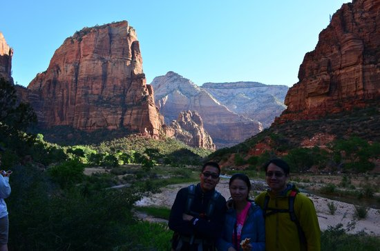 Angel's Landing: The start of the hike