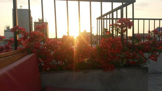 Masaya Hostel Santa Marta: Vista desde la terraza