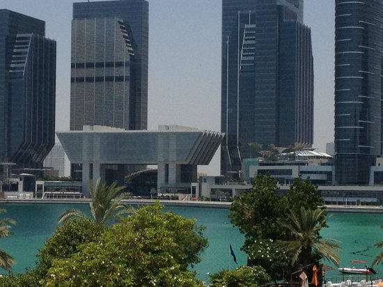 Le Meridien Abu Dhabi: Marina facing rooms have excellent view