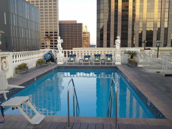 Le Pavillon Hotel: Rooftop Pool