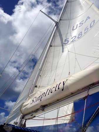 Simplicity Charters : Sky and Sails