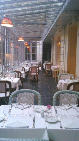 Meert Restaurant : la terrasse