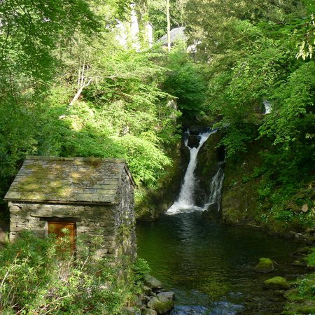 Rydal Hall: Waterfall in the grounds