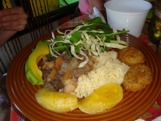Freedom Fighters Ital Shack: Our tasty meal