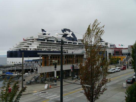 Seattle Marriott Waterfront: Круиз на Аляску