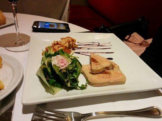 La Table des Marechaux - Hotel Napoleon: Foie gras