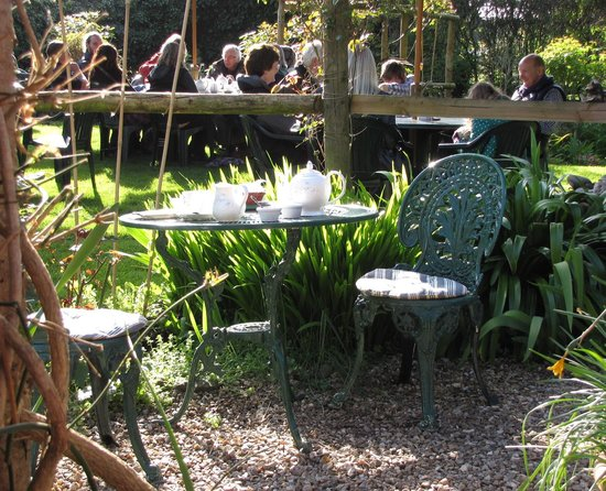 Tucking into High Tea at Kitnors - Picture of Kitnors Tea Room ...