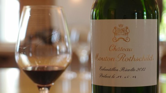 Chateau Mouton Rothschild : Tasted wine