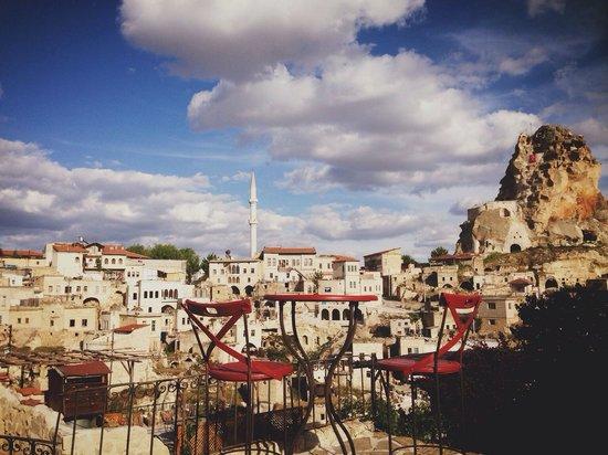 Hezen Cave Hotel: View
